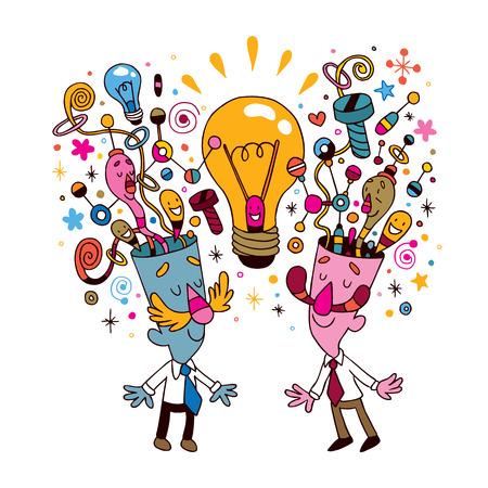 アイデアの概念図