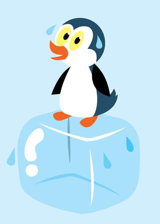 ペンギン アイス キューブ発汗