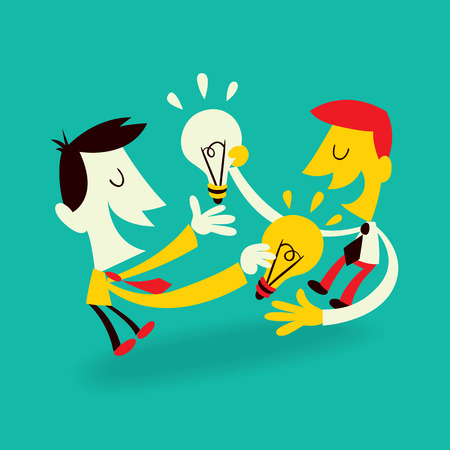 professional relationship: Ideas Exchange