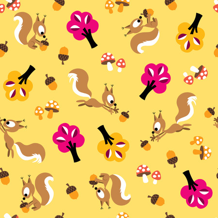 Squirrel pattern
