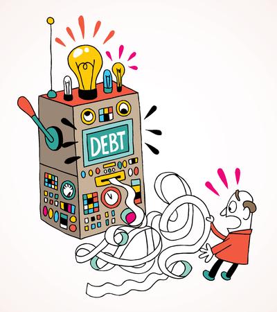 stockbroker: debt