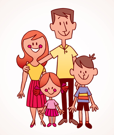 family Ilustracja