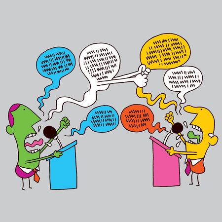 政治的な議論