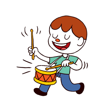 drummer boy Vector