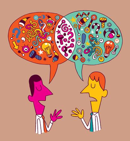 opinions & ideas Vector