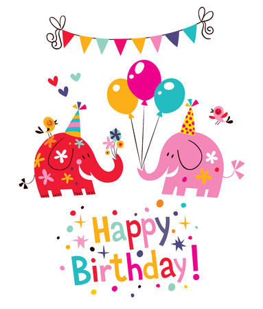 happy birthday card Stok Fotoğraf - 31810799