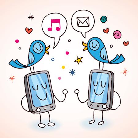 tweeting: cell phones tweeting