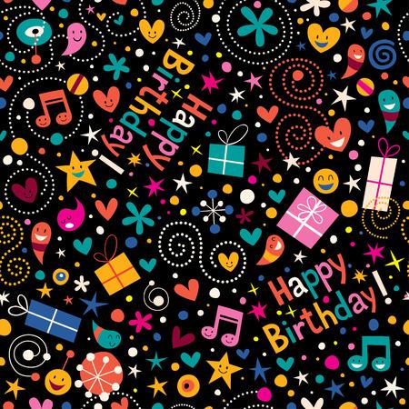 catchy: Happy Birthday pattern