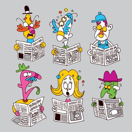 brainwash: newspaper readers