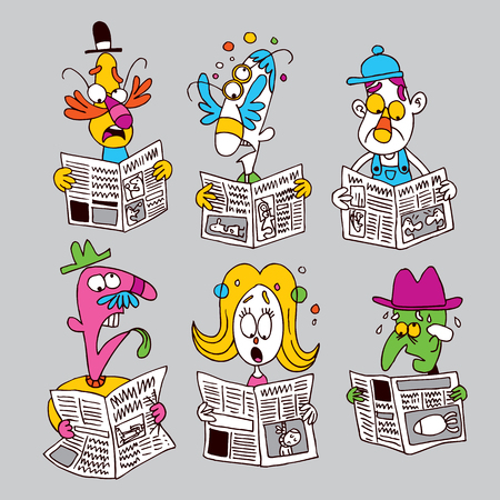 tabloid: newspaper readers