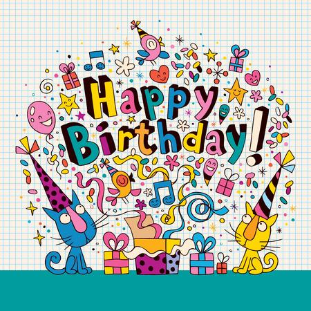 happy people: Happy Birthday