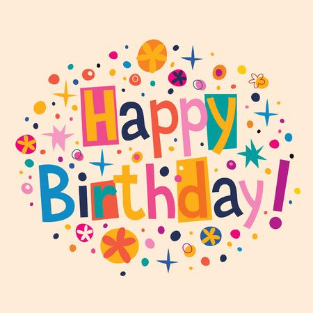 Herzlichen Glückwunsch zum Geburtstag  Standard-Bild - 31883516