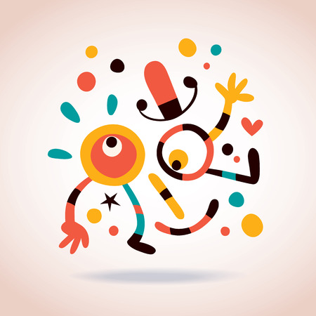 Abstract character Vector