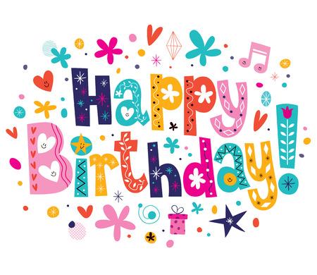 Happy Birthday Stock fotó - 32233434