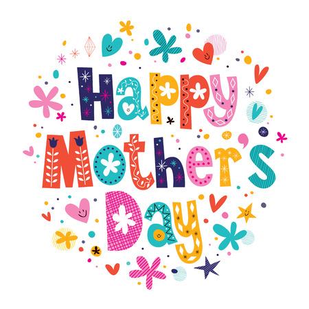 Feliz Día de las Madres Foto de archivo - 32233444