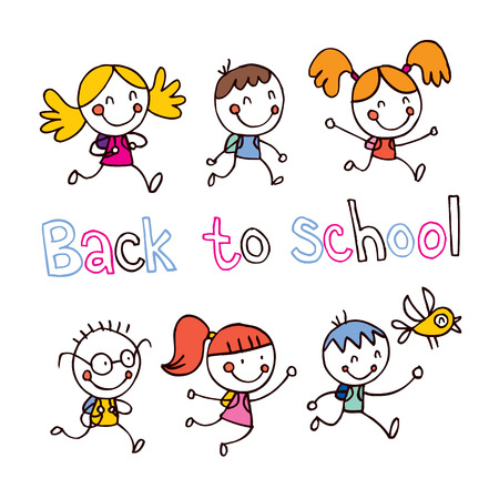 Back to school Stock Vector - 32233574