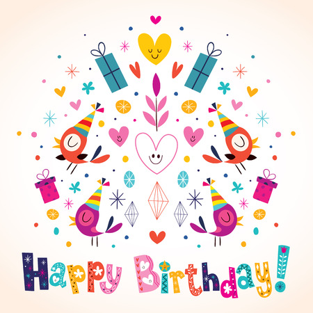 happy birthday: Happy Birthday card