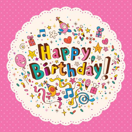 Feliz Cumpleaños Foto de archivo - 32689341