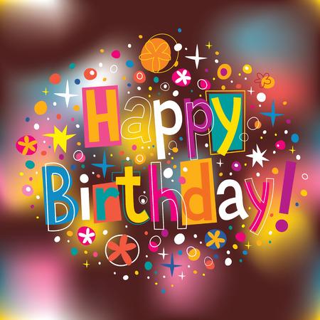 joyeux anniversaire: Bon anniversaire Illustration