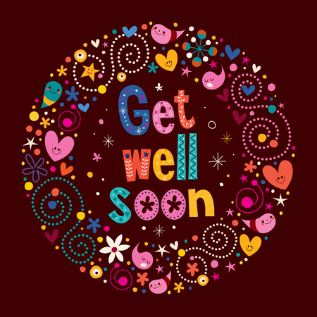 Get well soon Stock Vector - 33379316