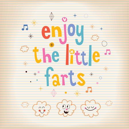 enjoy: Enjoy The Little Farts card