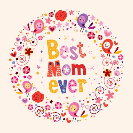 祝您母亲节快乐,这张卡片是我最棒的妈妈