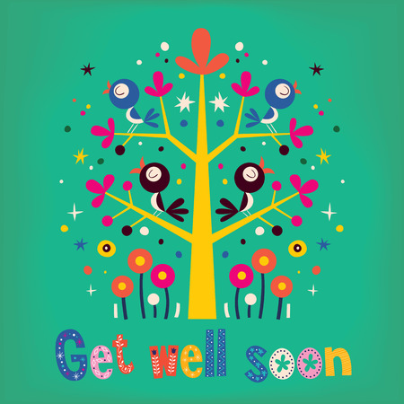 Get well soon card Imagens - 33011452
