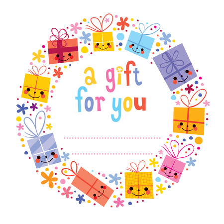 Gift tag Vector