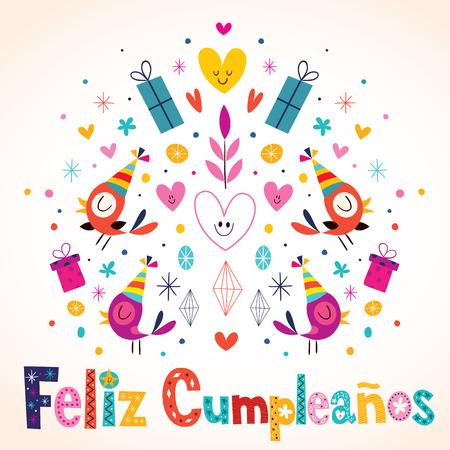 van harte gefeliciteerd in het spaans Cumpleaños Van Feliz   Gelukkige Verjaardag In Het Spaans Kaart  van harte gefeliciteerd in het spaans