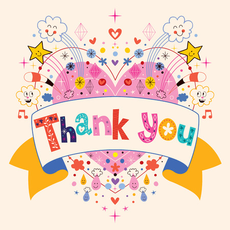 thank you sign: Thank you card