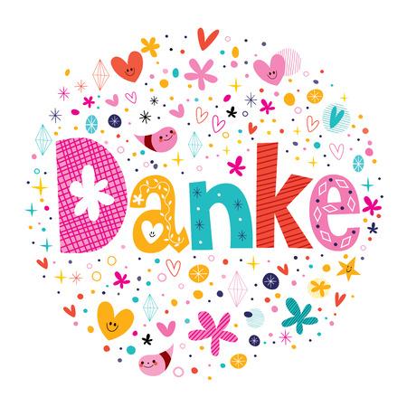 Danke - Thanks in German