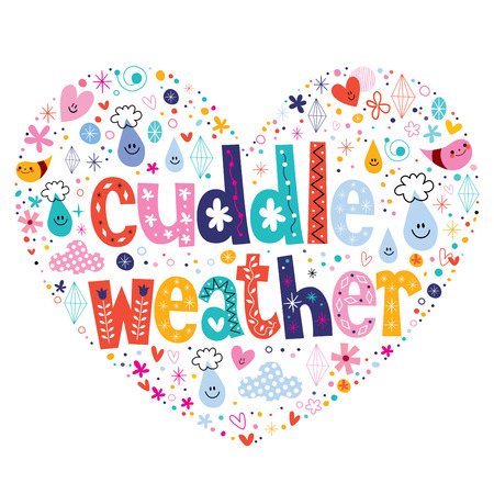 cuddle: cuddle weather Illustration