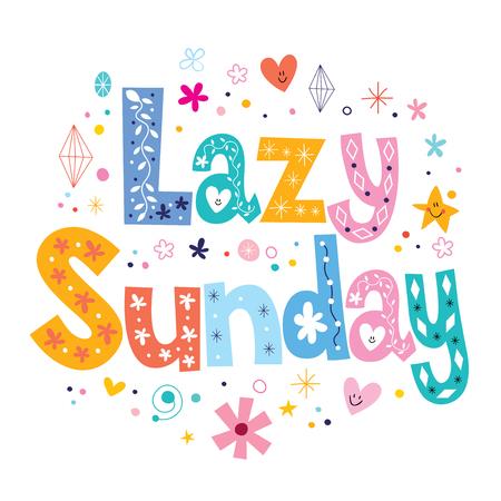 homely: Lazy Sunday