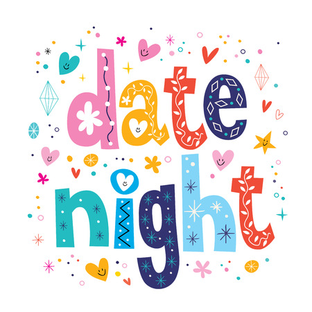 paisajes noche pareja: Noche de cita