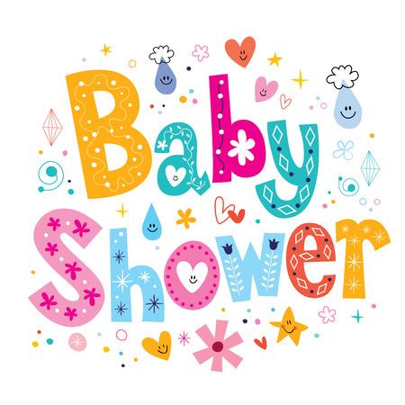 ベビー シャワー 写真素材