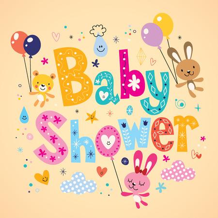 baby background: Baby Shower