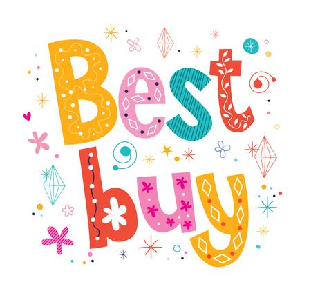 acquire: Best buy decorative lettering type design