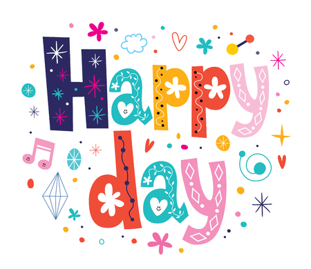 harmonization: Happy day Stock Photo