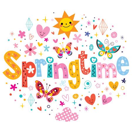 spring: Primavera Foto de archivo