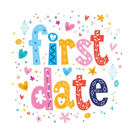 teenage couple: first date