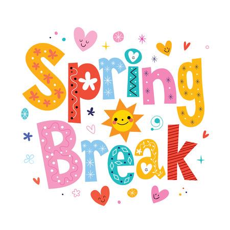 break: Spring break