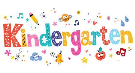 kindergarten Stockfoto