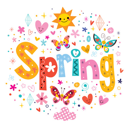 � spring: Primavera Foto de archivo