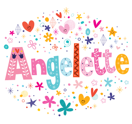 Angelette French girl name