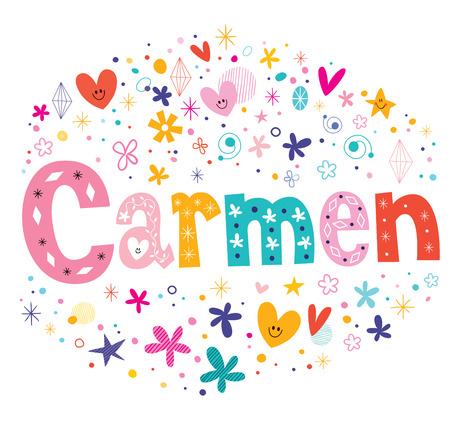 carmen: Carmen name logo