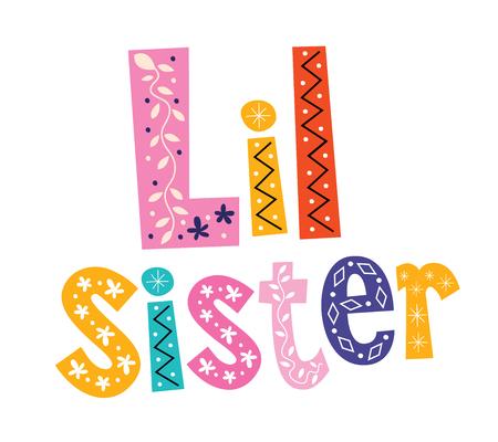 Little sister Ilustração