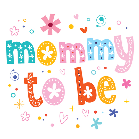 be: Mommy to be Illustration