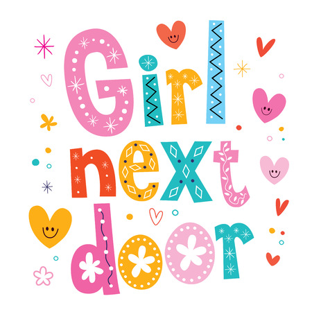 a charming: girl next door