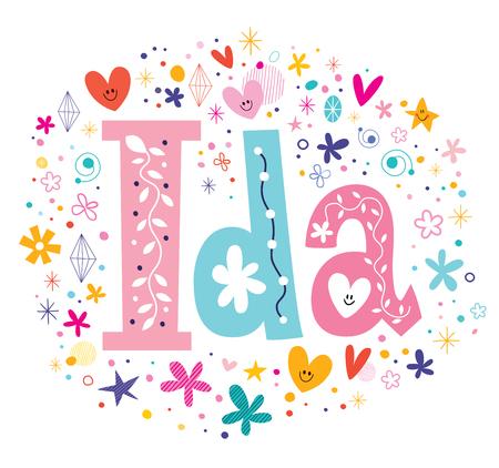 Ida feminine given name