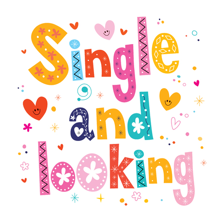 single word: single and looking